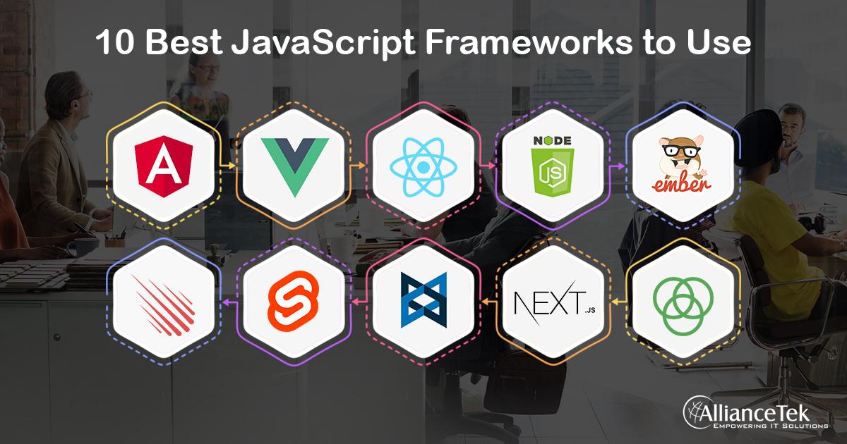 10 Best JavaScript Frameworks to Use